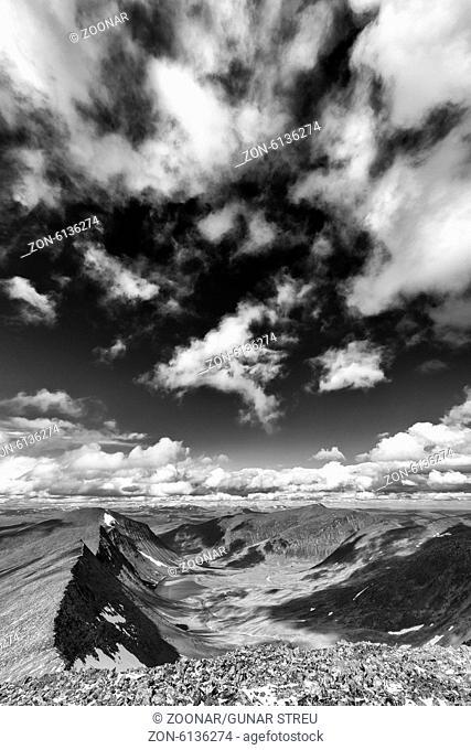 Gaskariehppi valley, Abisko alps, Lapland, Sweden