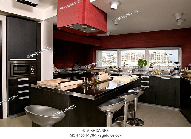 Enjoyable Extractor Breakfast Bar Stool Stock Photos And Images Age Machost Co Dining Chair Design Ideas Machostcouk