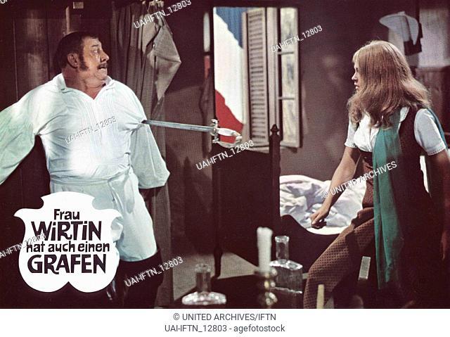 Frau Wirtin hat auch einen Grafen, Österreich/Frankreich/Deutschland 1968, Regie: Franz Antel, Darsteller: Szenenfoto