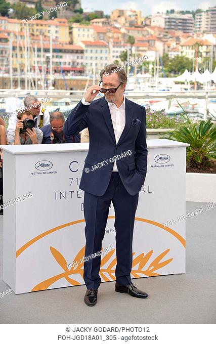 Gary Oldman Photocall 'Rendez-vous with Gary Oldman' 71st Cannes Film Festival May 17, 2018 Photo Jacky Godard
