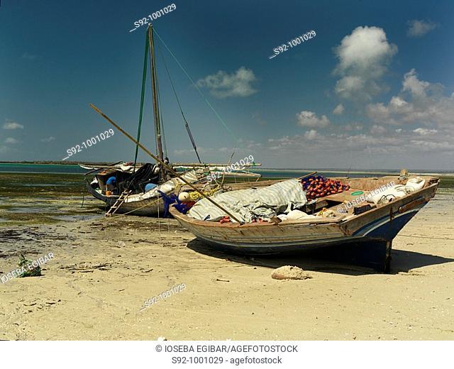 Fishing boats, Mozambique