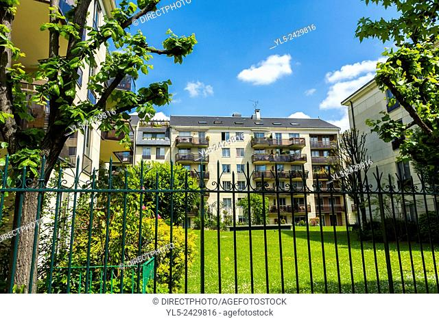 Paris, France, Charenton-Le-Pont, Suburbs, French Real Estate, Residential Buildings