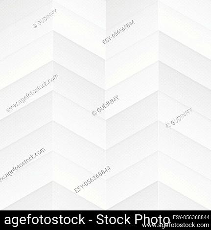 White zigzag seamless pattern (vector eps 10)