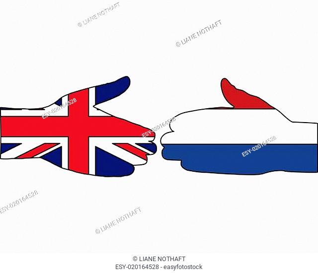 Internationaler Handschlag