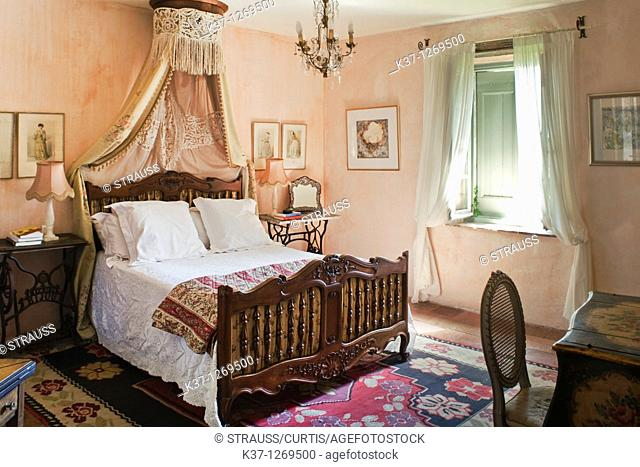 Village bedroom in France