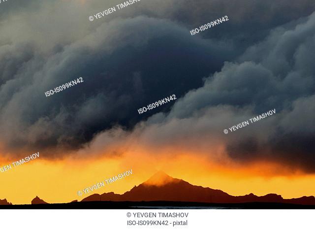 Gorely Volcano caldera, Kamchatka Peninsula, Russia