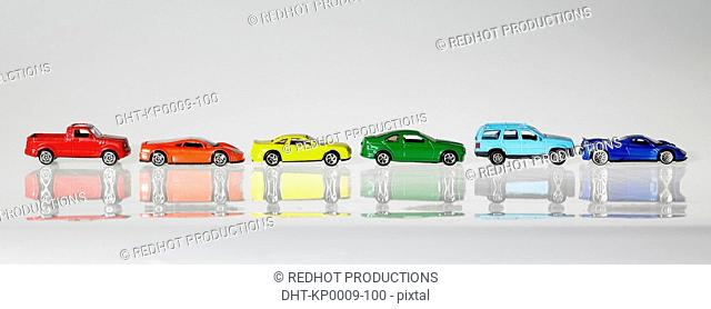 Panoramic Colours, Coloured Model Cars