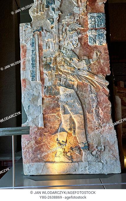 Mayan Art, Palenque Museum, Chiapas, Mexico