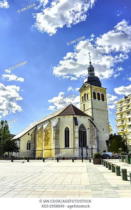 Saint Maurice Church, Annecy, Haute-Savoie department, Auvergne-Rhône-Alpes, France