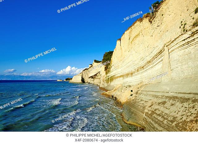 Greece, Ionian island, Corfu island, Drastis Cape near Sidari village