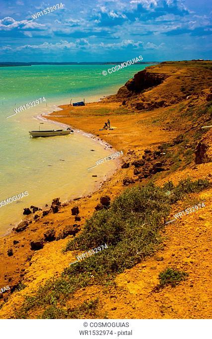 Landscape Cape Gallinas, Peninsula de la Guajira, Colombia
