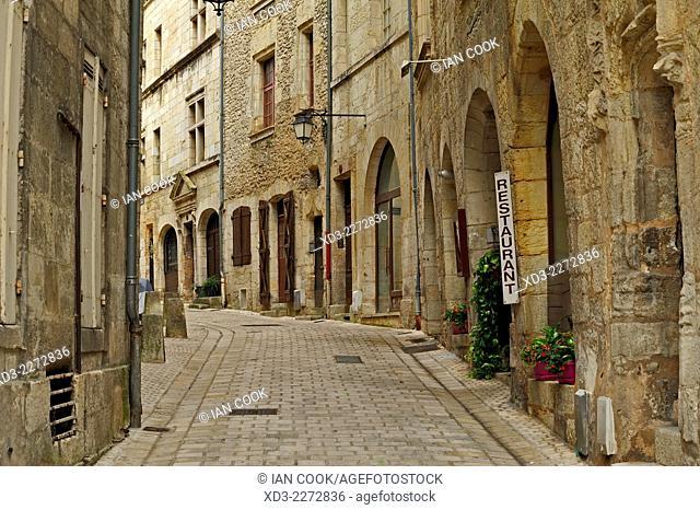 Rue de la Nation, Perigueux, Dordogne Department, Aquitaine, France