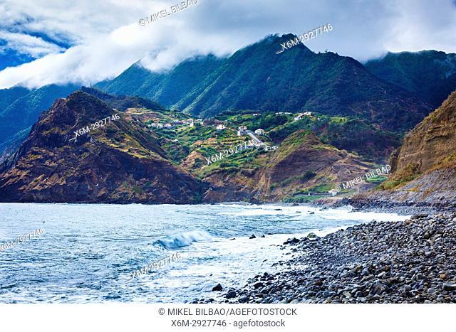 Porto da Cruz. Madeira, Portugal, Europe