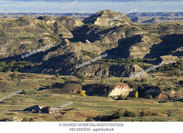 Badlands from Buck Hill, Theodore Roosevelt National Park-South Unit, North Dakota