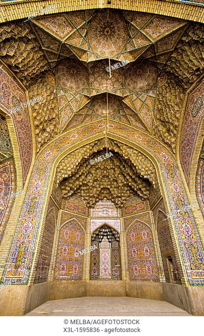 Nassir-Ol-Molk mosque 1887  Shiraz  Iran