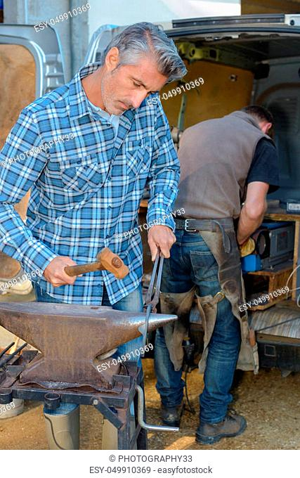 the busy farrier