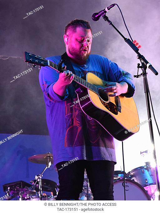 Ragnar þórhallsson performs at ALT 98.7 Summer Camp at the Queen Mary in Long Beach on August 3, 2019. performs at ALT 98