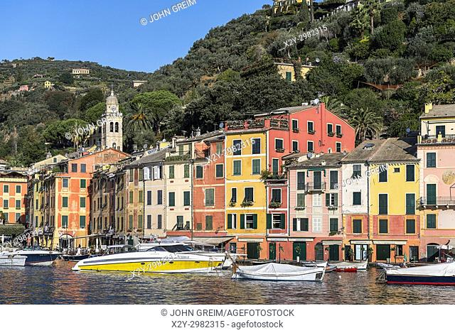 Picturesque harbor and village of Portofino, Liguria, Italy