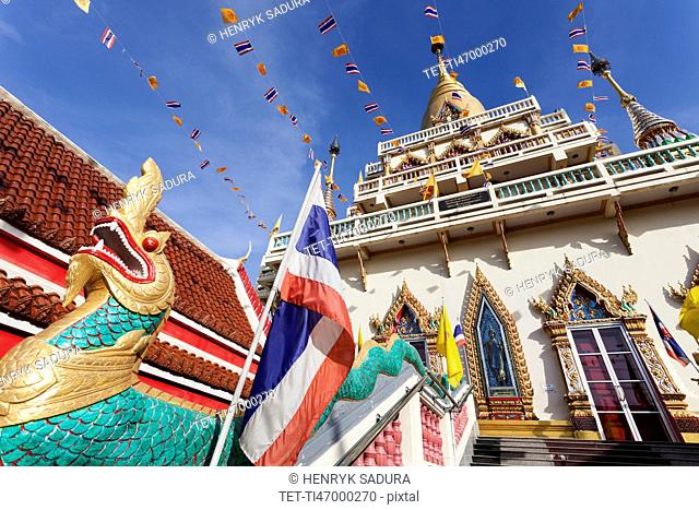 Low angle view of Wat Soi Thong Temple