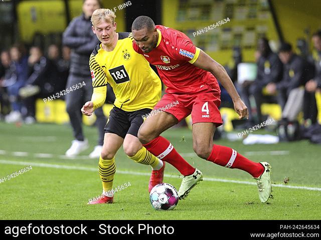 firo: 22.05.2021, Fuvuball: Soccer: 1st Bundesliga, season 2020/21 BVB, Borussia Dortmund - Bayer 04 Leverkusen 3: 1 Jonathan TAH