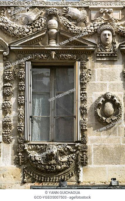 FACADE OF HOTEL MAILLARD - DIJON - BURGUNDY - FRANCE