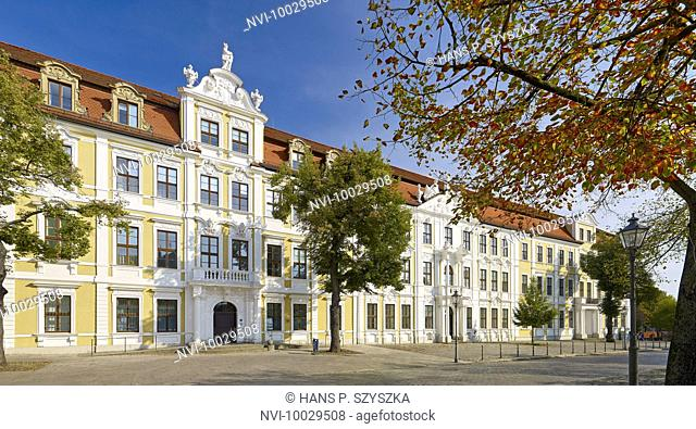 Parliament Building on the cathedral square, Magdeburg, Saxony-Anhalt, Germany