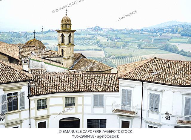 Village of Govone, Piemonte, Italy