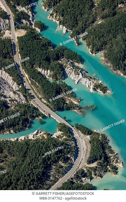 Embalse de Mediano, Spain - Aerial