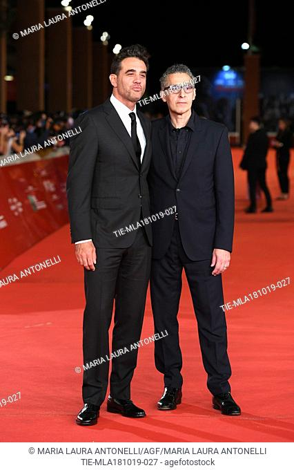 Bobby Cannavale, John Turturro during the red carpet of film Motherless Brooklyn at the 14th Rome Film Festival, Rome, ITALY-17-10-2019