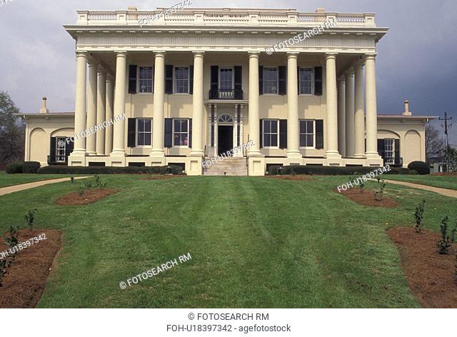 mansion, law school, university, Macon, GA, Georgia, The Woodruff House, a Greek Revival Mansion, on the campus of Mercer University School of Law in Macon
