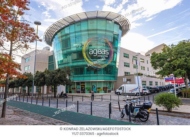 AGEAS Seguros company headquarters in Lisbon, portugal
