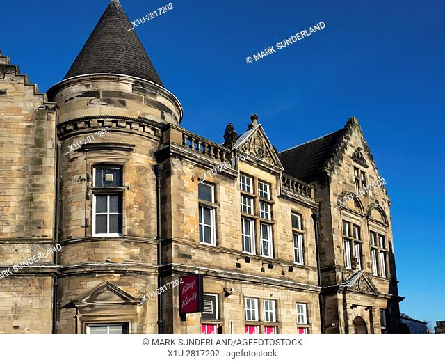 Old Post Office Building now a Nightclub at Kirkcaldy Fife Scotland