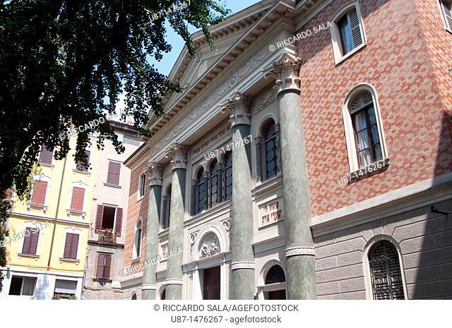 Italy, Emilia Romagna, Modena, Synagogue