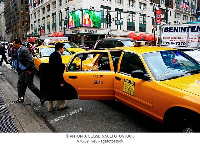 Taxi. New York City, USA