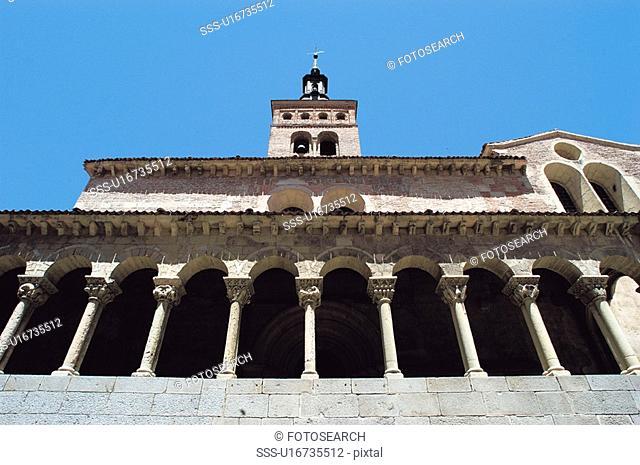 Spain, Castilla leon, Segovia, City, Architecture, Church, Art
