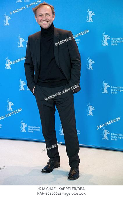 Actor Andrzej Chyra poses at a photocall for «In the name of» (W imie) during the 63rd annual Berlin International Film Festival, in Berlin, Germany