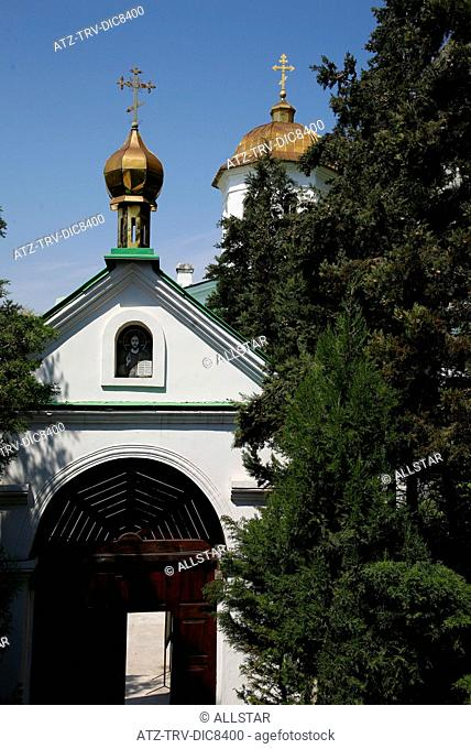 ST. CLIMENT CAVE MONASTERY; INKERMAN, CRIMEA, UKRAINE; 30/04/2008