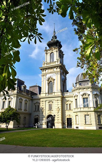 Festetics Baroque Palace 1745-1887 - Keszthely, Lake Balaton, Hungary
