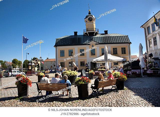 Söderköping square, Sweden