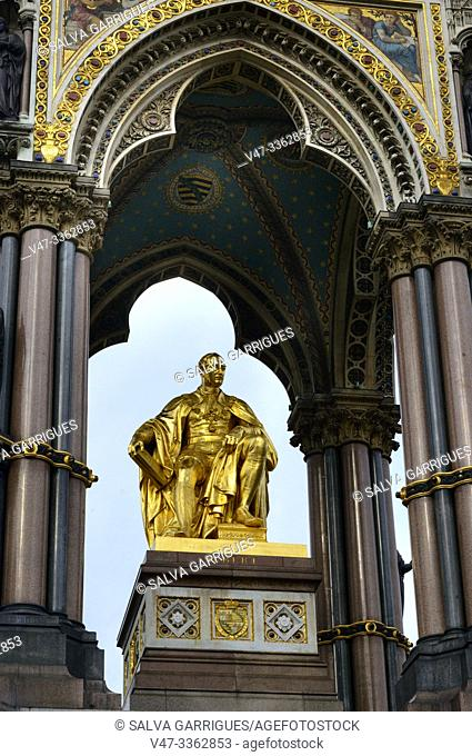 Albert Memorial, Kensington Gardens, London