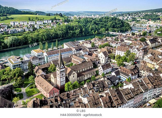 Luftaufnahme Altstadt Schaffhausen
