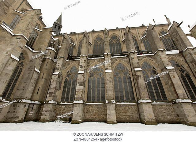 Altenberger Don, Bergischer Dom, Kath. Pfarrgemeinde St. Mariä Himmelfahrt, Altenberg, Odentahl, NRW, Deutschland