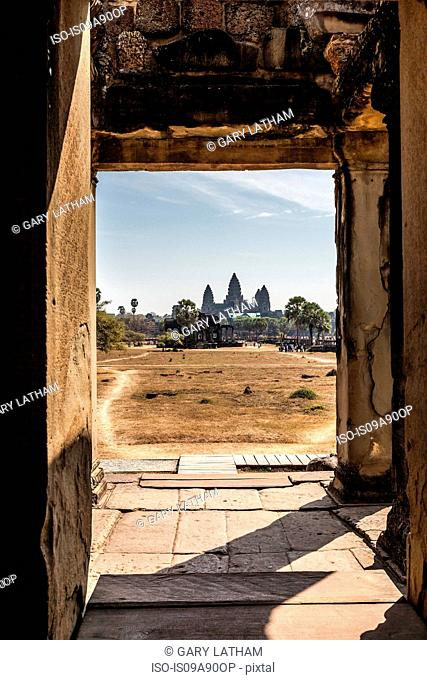 View of Angkor Wat, Siem Reap, Cambodia