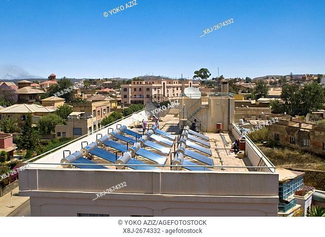 Solar panels, Asmara, Eritrea