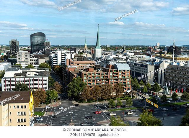 city view, Dortmund, North Rhine-Westphalia, Germany, Europe, Stadtansicht, Dortmund, Nordrhein-Westfalen, Deutschland, Europa