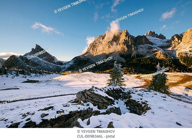 Limides Lake, South Tyrol, Dolomite Alps, Italy