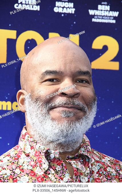 """David Alan Grier 01/06/2018 The U.S. Premiere of """"""""Paddington 2"""""""" held at The Regency Village Theatre in Los Angeles, CA Photo by Izumi Hasegawa / HNW /..."""