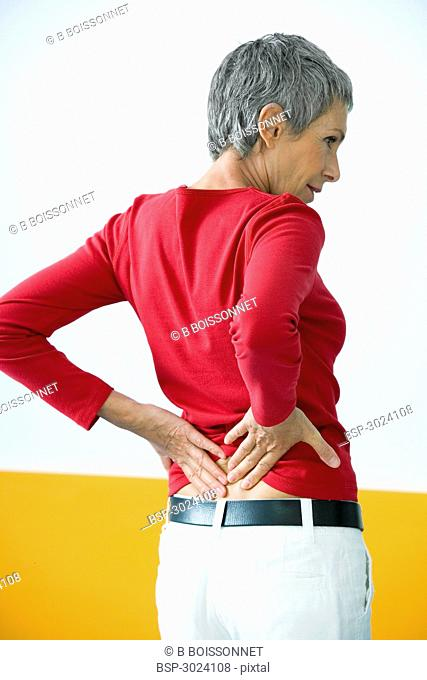 LOWER BACK PAIN IN ELDERLY PERS. Model