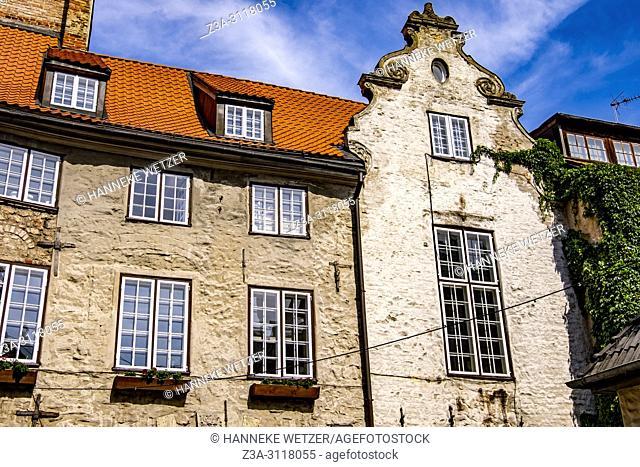 Authentic buildings in Riga, Latvia, Europe