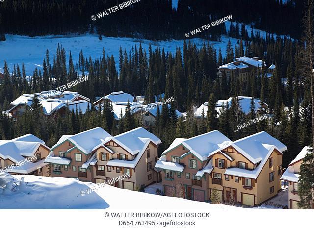 Canada, British Columbia, Sun Peaks, Sun Peaks Resort, vacation homes, winter